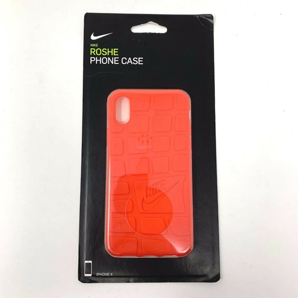 huge discount 1718d 766b8 Nike Roshe Shoe Bottom Style iPhone X Case NWT